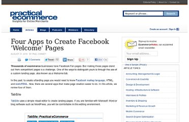 http://www.practicalecommerce.com/articles/2210-Four-Apps-to-Create-Facebook-Welcome-Pages