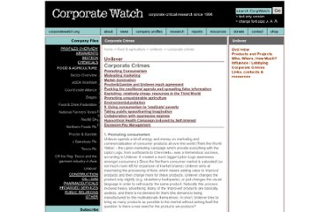 http://www.corporatewatch.org.uk/?lid=260