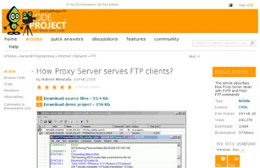http://www.codeproject.com/Articles/9547/How-Proxy-Server-serves-FTP-clients