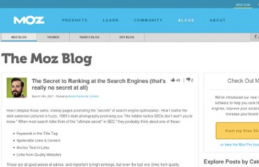 http://www.seomoz.org/blog/the-secret-to-ranking-at-the-search-engines-thats-really-no-secret-at-all