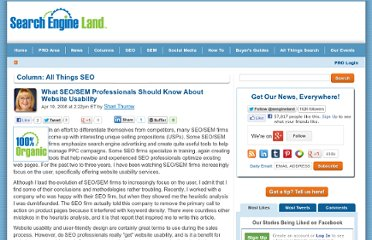 http://searchengineland.com/what-seosem-professionals-should-know-about-website-usability-13748