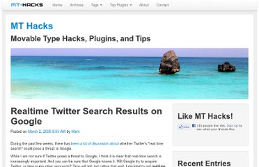 http://mt-hacks.com/20090302-realtime-twitter-search-results-on-google.html