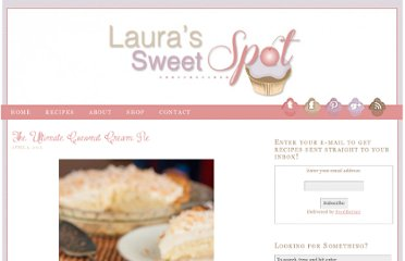 http://laurassweetspot.com/2013/04/02/the-ultimate-coconut-cream-pie/