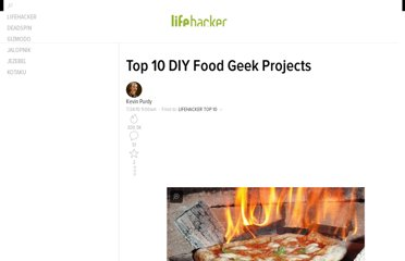 http://lifehacker.com/5595336/top-10-diy-food-geek-projects