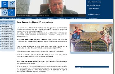 http://www.election-politique.com/constitutions_index.php