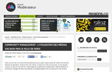 http://www.blogdumoderateur.com/community-management-ville-paris/