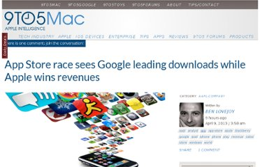 http://9to5mac.com/2013/04/09/app-store-race-sees-google-leading-downloads-while-apple-wins-revenues/