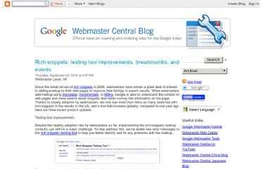 http://googlewebmastercentral.blogspot.com/2010/09/rich-snippets-testing-tool-improvements.html