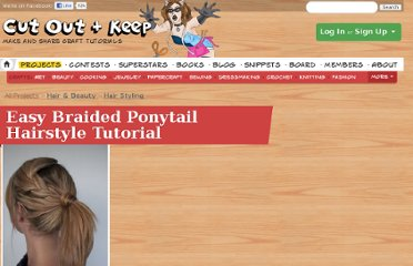 http://www.cutoutandkeep.net/projects/easy-braided-ponytail-hairstyle-tutorial
