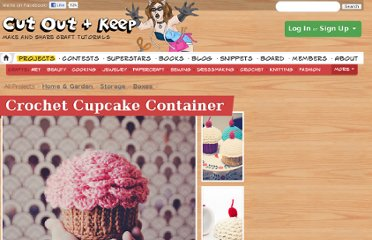 http://www.cutoutandkeep.net/projects/crochet-cupcake-container