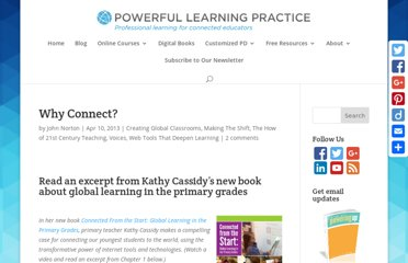 http://plpnetwork.com/2013/04/10/connect-excerpt-kathy-cassidys-book-global-learning-primary-grades/