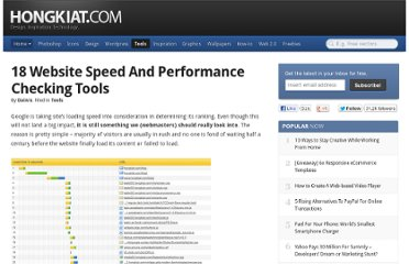 http://www.hongkiat.com/blog/website-speed-and-performance-check-tools/