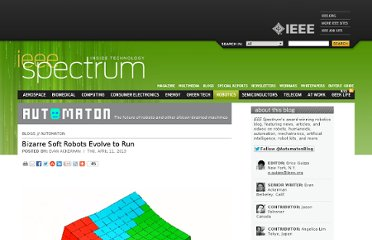 http://spectrum.ieee.org/automaton/robotics/robotics-software/bizarre-soft-robots-evolve-to-run#.UWcC2Fw0i00.hackernews
