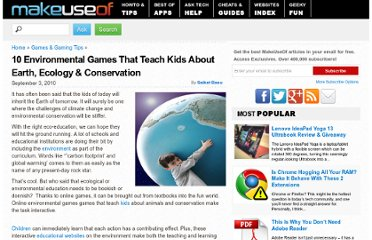 http://www.makeuseof.com/tag/10-environmental-games-teach-kids-earth-ecology-conservation/