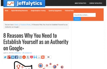 http://www.jeffalytics.com/establish-google-plus-authority/