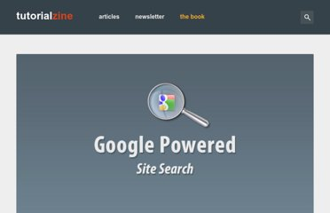 http://tutorialzine.com/2010/09/google-powered-site-search-ajax-jquery/