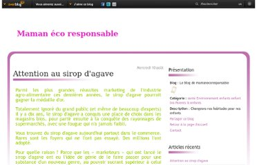 http://mamanecoresponsable.over-blog.com/article-attention-au-sirop-d-agave-81279413.html