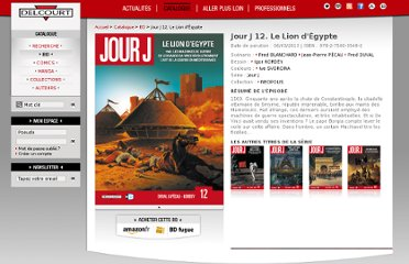 http://www.editions-delcourt.fr/catalogue/bd/jour_j_12_le_lion_d_egypte