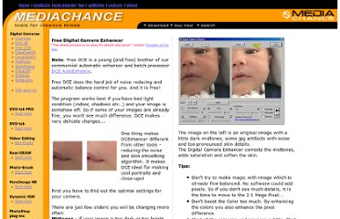 http://www.mediachance.com/digicam/enhancer.htm