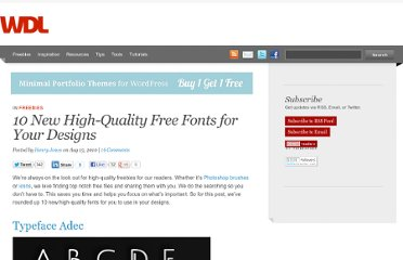 http://webdesignledger.com/freebies/10-new-high-quality-free-fonts-for-your-designs