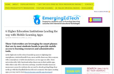 http://www.emergingedtech.com/2013/04/6-higher-education-institutions-leading-the-way-with-mobile-learning-apps/