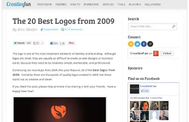 http://creativefan.com/the-20-best-logos-from-2009/