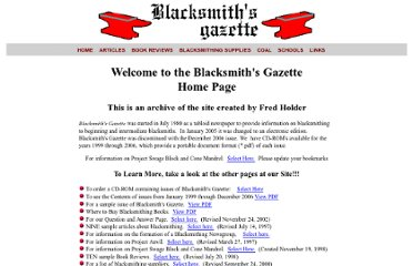 http://www.blacksmithsgazette.com/Blacksmithing/