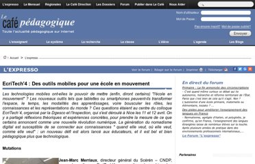 http://www.cafepedagogique.net/lexpresso/Pages/2013/04/15042013Article635016060810447371.aspx