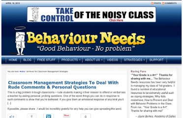 http://www.behaviourneeds.com/blog/category/classroom-management-tips/