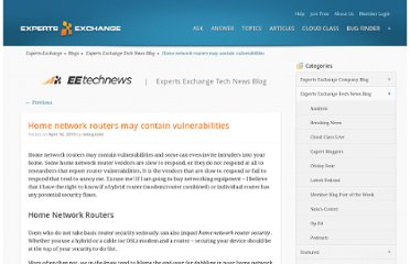 http://blog.experts-exchange.com/ee-tech-news/routers/