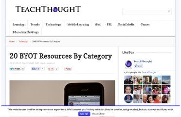 http://www.teachthought.com/trends/20-byot-resources-by-category/