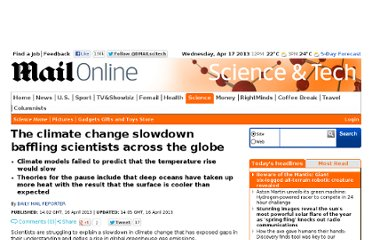 http://www.dailymail.co.uk/sciencetech/article-2309917/The-climate-change-slowdown-baffling-scientists.html