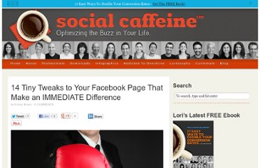 http://lorirtaylor.com/14-tiny-tweaks-to-your-facebook-page-that-make-an-immediate-difference/