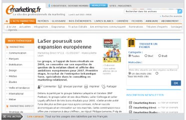 http://www.e-marketing.fr/Marketing-Direct/Article/LaSer-poursuit-son-expansion-europeenne-21167-1.htm