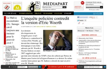 http://www.mediapart.fr/journal/france/060910/lenquete-policiere-contredit-la-version-deric-woerth