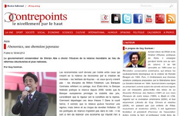 http://www.contrepoints.org/2013/04/18/121907-abenomics-une-aberration-japonaise?utm_source=feedburner&utm_medium=twitter&utm_campaign=Feed%3A+Contrepoints2+%28Contrepoints%29