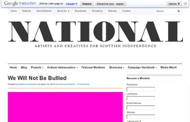 http://nationalcollective.com/2013/04/18/we-will-not-be-bullied/
