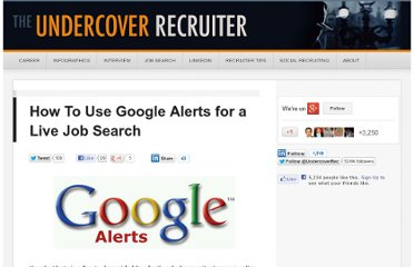 http://theundercoverrecruiter.com/how-use-google-alerts-live-job-search/