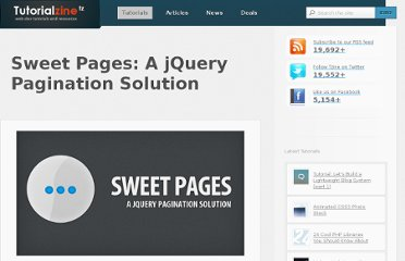 http://tutorialzine.com/2010/05/sweet-pages-a-jquery-pagination-solution/