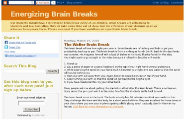 http://brainbreaks.blogspot.com/2010/03/waiter-brain-break.html