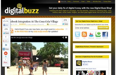 http://www.digitalbuzzblog.com/facebook-integration-at-the-coca-cola-village/