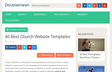 http://doublemesh.com/templates/church-website-templates/