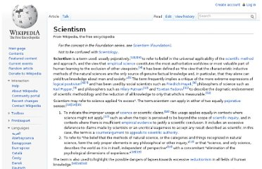 http://en.wikipedia.org/wiki/Scientism#Rationalization_and_modernity