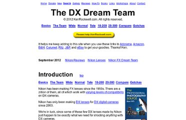 http://www.kenrockwell.com/nikon/dx-dream-team.htm