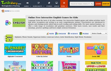 http://www.turtlediary.com/kindergarten-games/esl-efl-games.html