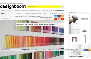 http://www.designboom.com/weblog/cat/8/view/7334/felissimo-s-500-colored-pencil-set-by-social-designer.html