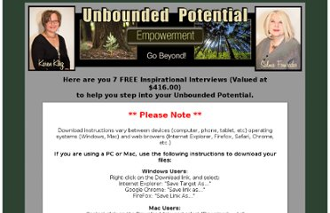 http://unboundedpotential.com/inspirational-interview-downloads.html