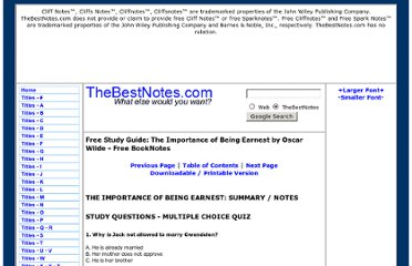 http://thebestnotes.com/booknotes/Importance_Of_Being_Earnest_Wilde/Importance_Of_Being_Earnest_Study_Guide13.html