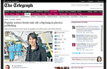 http://www.telegraph.co.uk/culture/books/7985508/Popular-science-books-take-off-a-big-bang-in-physics-publishing.html