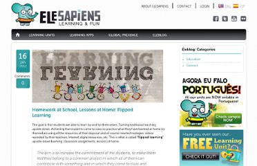 http://www.elesapiens.com/homework-at-school-lessons-at-home-flipped-learning/